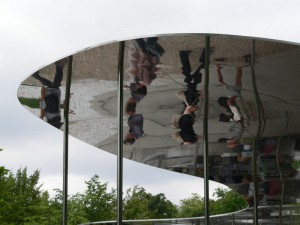 Serpentine Gallery Pavilion reflection