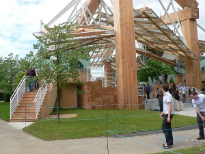 Frank Gehry Serpentine Pavilion 2008